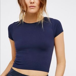 Free People Cap Sleeve Seamless Cami
